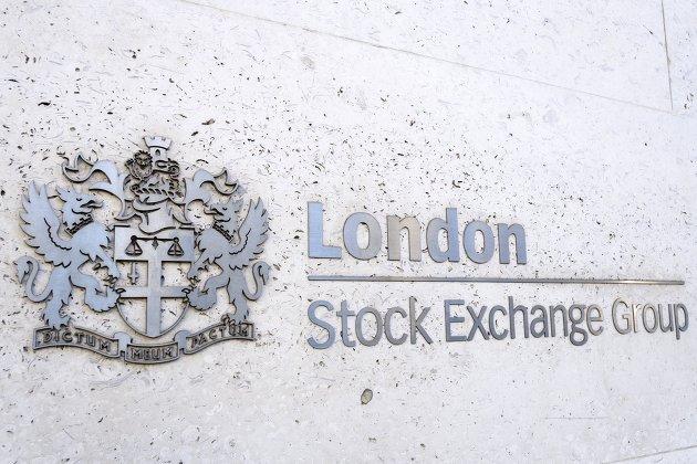""""""" Лондонская фондовая биржа в Лондоне"""