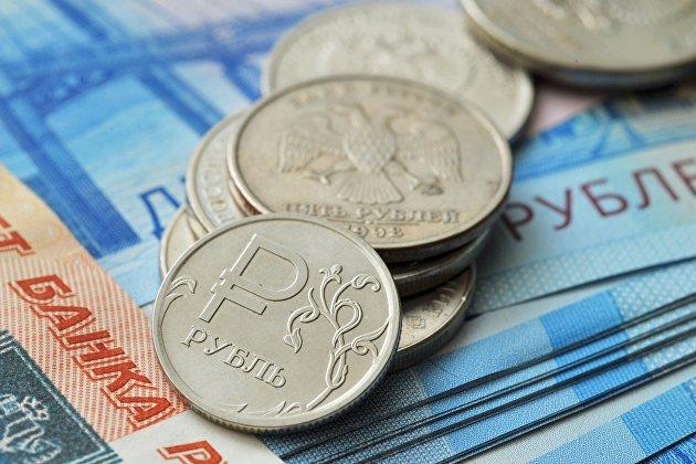 ! Монета номиналом 1 рубль и банкноты номиналом 2000 рублей и 5000 рублей