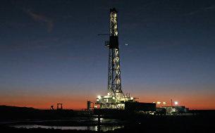 Буровая установка для геологической разведки в Техасе, США