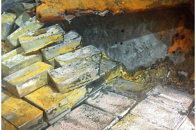 Серебро с SS Gairsoppa – семь десятилетий под водой