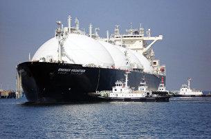 Танкер для транспортировки сжиженного природного газа
