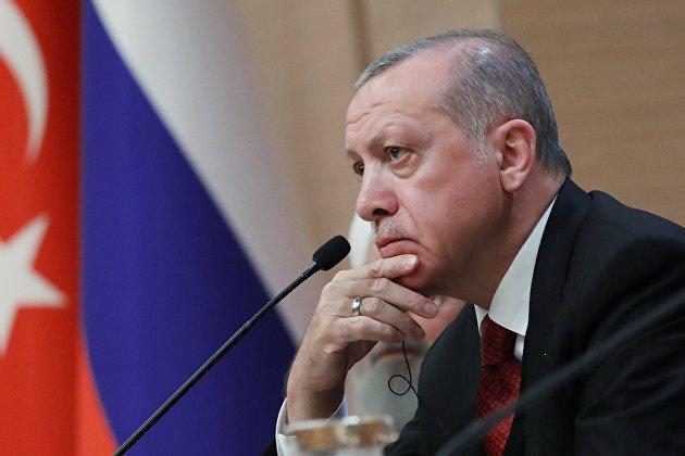 !Президент Турции Реджеп Тайип Эрдоган