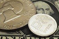 Рубль и доллар