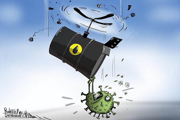 Обвал нефти происходит из-за дисбаланса спроса и предложения, который является худшим со времен Второй мировой войны