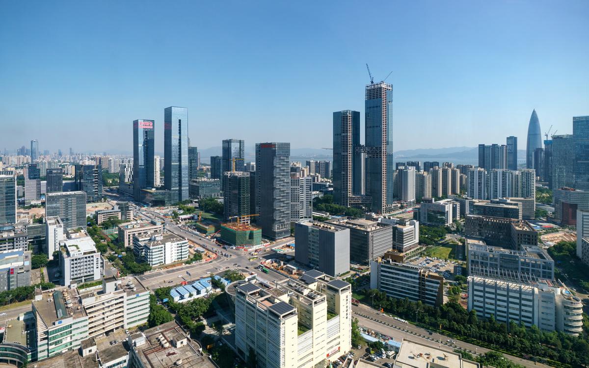 Панорама Шэньчжэня