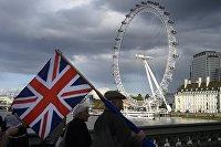 """"""" Акция против Brexit в Лондоне"""