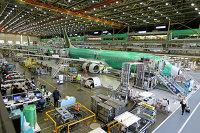 Производство самолетов Boeing 737 MAX