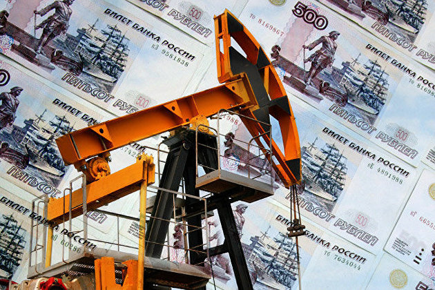 """"""" Нефть, рубль"""