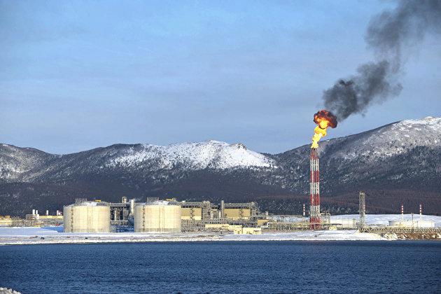 Первый в России завод по производству сжиженного природного газа (проект «Сахалин-2»)