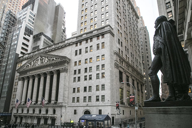 Здание Нью-Йоркской фондовой биржи