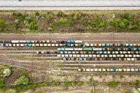 Железнодорожные цистерны для нефтепродуктов
